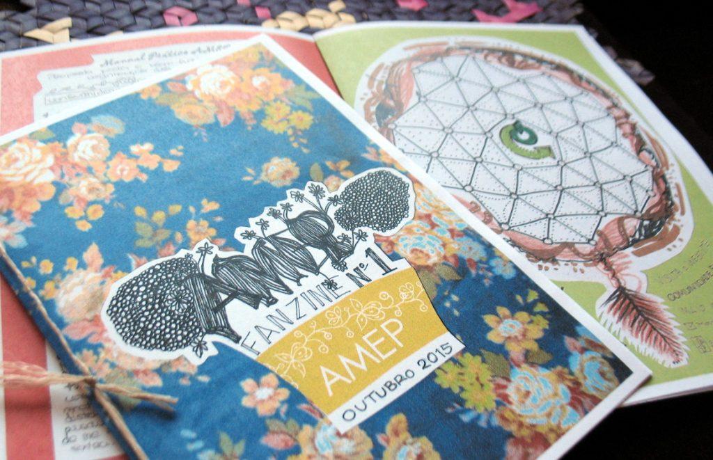 Em Outubro de 2015 lançamos a primeira fanzine da AMEP!