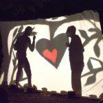Contar histórias com o coração: Teatro de Sombras na eco-aldeia de Monzuno em Itália. Foto de Antonio Graziano