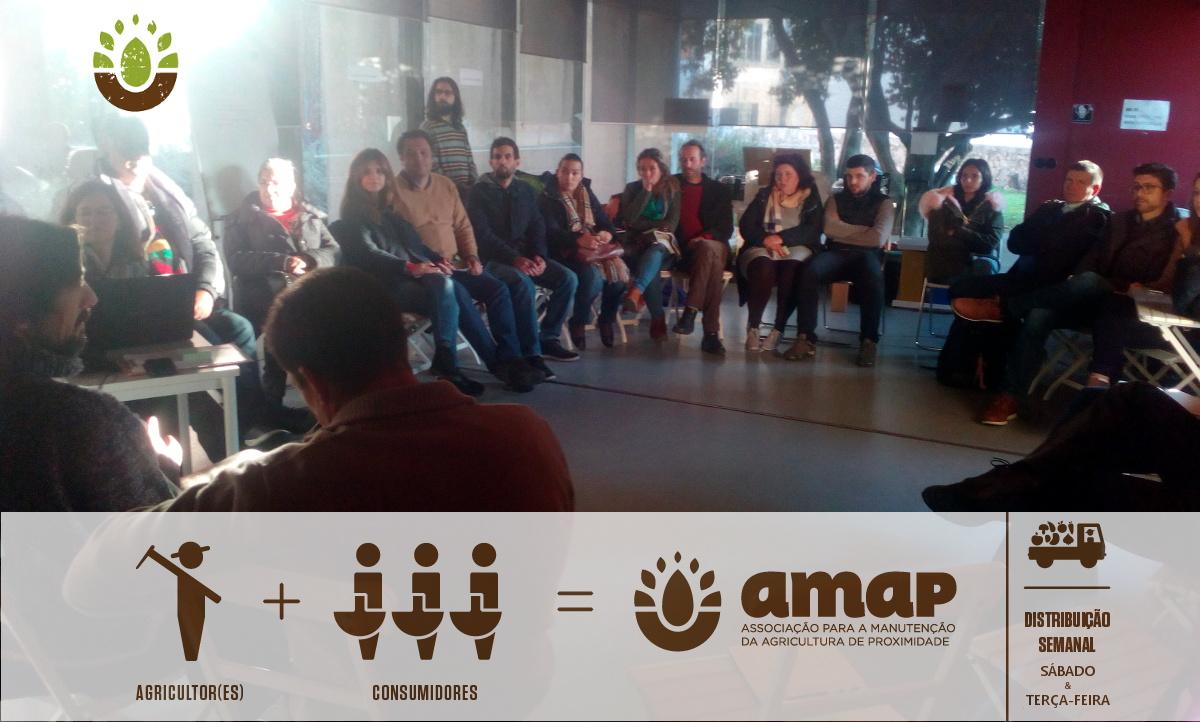 Assembleia-Geral AMAP, Dezembro de 2017. Um resumo pode ser ouvido n'O SOM É A ENXADA #62